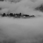 La nebbia a gl'irti colli